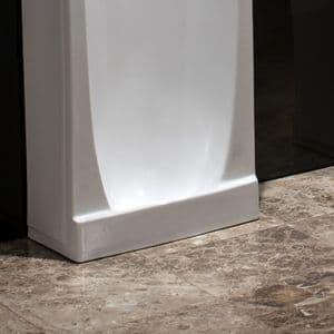 Healey & Lord Niagara Traditional Slab Ceramic Urinal